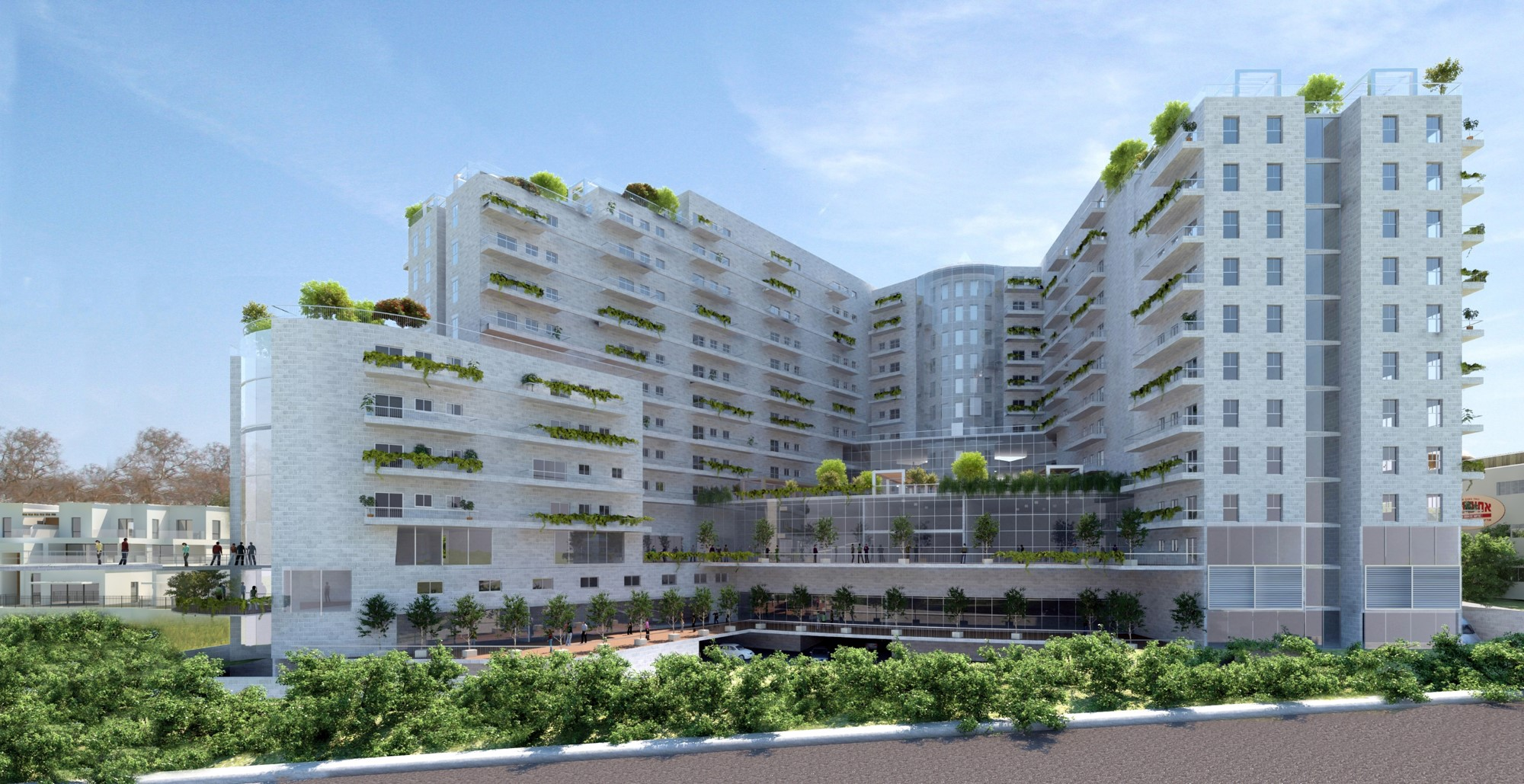 גבריאלה אדריכלים | תכנון | מועצה מקומית אלקנה | דיור מוגן